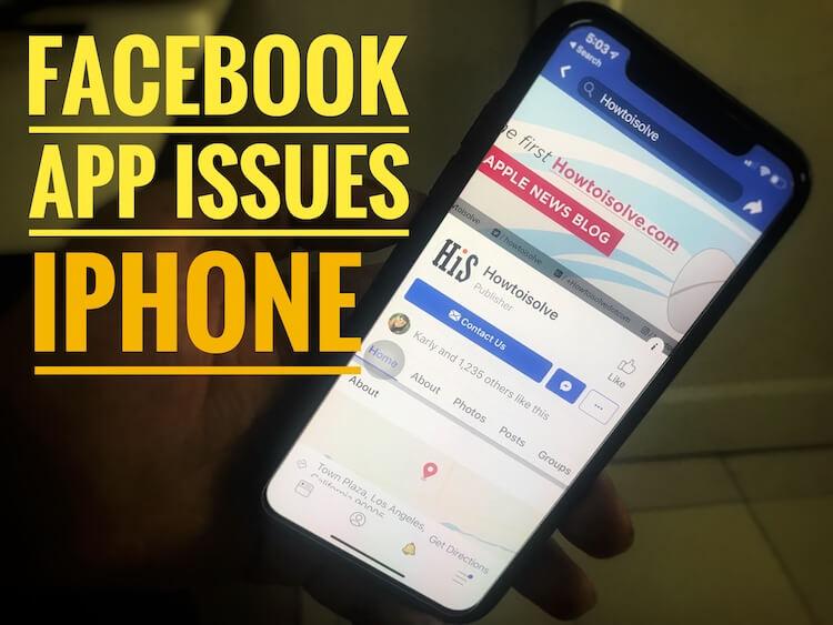 Facebook не загружается, продолжает вылетать на iPhone 12,11, XR, XS Max, X