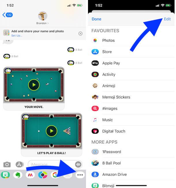 Как удалить Game Pigeon с iMessage iPhone, iPad