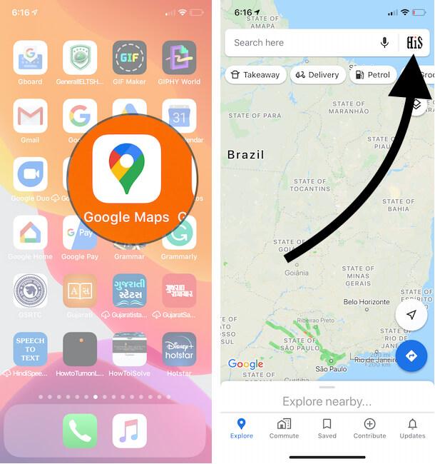 Как скачать офлайн-карты и маршруты на Google Map на iPhone, iPad