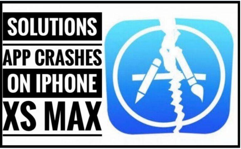 Устранение проблем, связанных с сбоями приложений iPhone XS Max при запуске или случайных сбоях