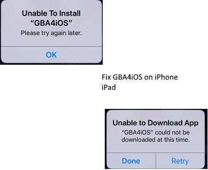 [2021 Updated] GBA4iOS Невозможно установить на iPhone / iPad на iOS 14 / 13.7