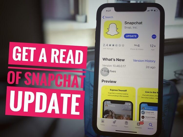 Как избавиться от обновления Snapchat на любом iPhone / iPad