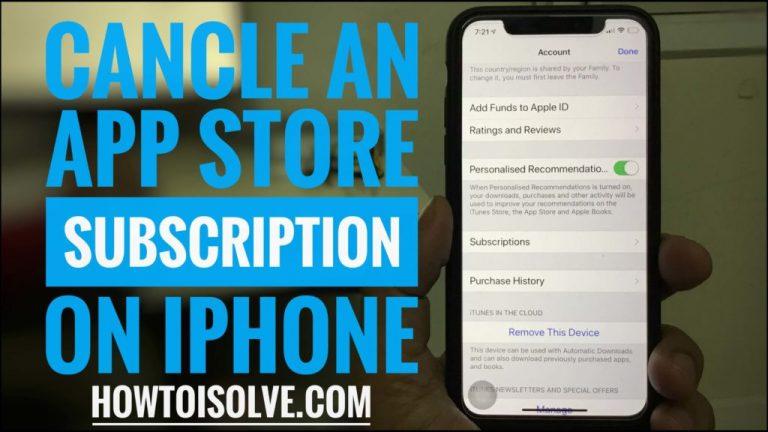 Как отменить подписку в App Store на iPhone 12Pro, XR, 11Pro, XS