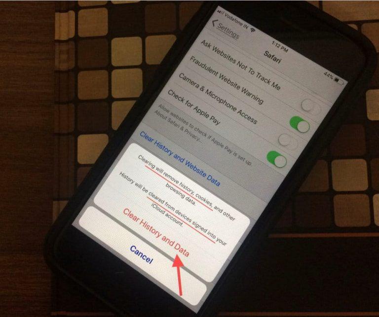 Как очистить историю и кэш в Safari на iPhone 12 (Pro, Max), XR, 11 Pro