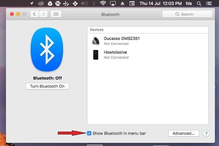 Как отключить / включить Bluetooth на Mac, macOS Big Sur / Catalina