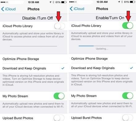 Как включить библиотеку фотографий iCloud на iPhone и iPad