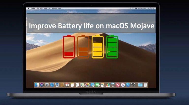 Советы по увеличению времени автономной работы Mac