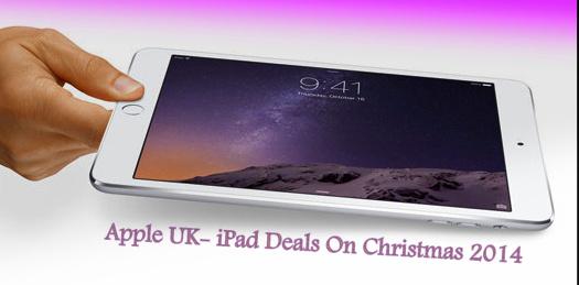 Скидки на Apple iPad mini, iPad Air 2 и iPad в Великобритании на Рождество 2020 года