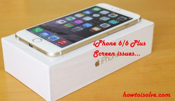 Сенсорный экран iPhone 6 Plus или 6 не работает после обновления [Solved]