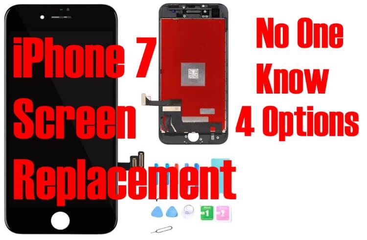 Варианты замены и ремонта экрана iPhone 8 / iPhone 7 Сделай сам