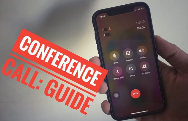 Как сделать конференц-звонок на iPhone 12Pro, 11 Pro Max, XS Max, XR