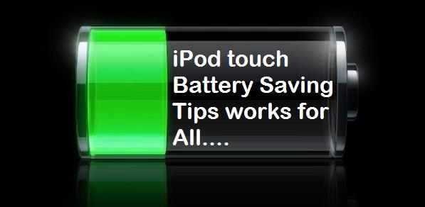 7 советов по экономии заряда батареи iPod Touch, которые помогут вам экономить электроэнергию в течение длительного времени