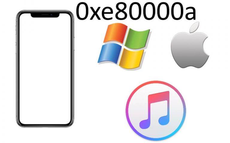 Как исправить ошибку iTunes 0xe80000a на iPhone XS Max, iPhone XS или XR