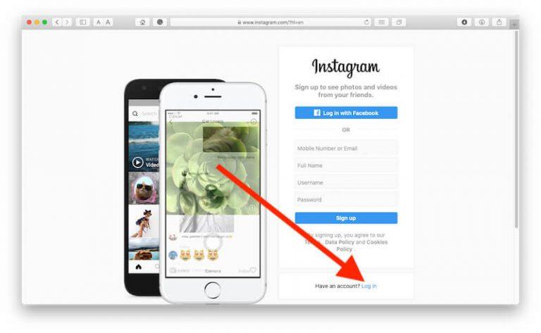 Как изменить электронную почту Instagram на Mac или компьютере, iPhone, iPad
