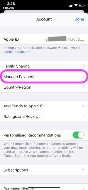 Удаление или обновление платежной информации Apple ID на iOS, macOS, Android
