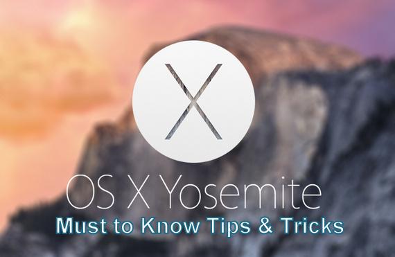 Лучшие советы и рекомендации для Mac OS X Yosemite [Useful Hints]
