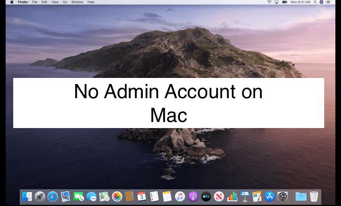 Нет учетной записи администратора в macOS Big Sur / Catalina: Mac, iMac, MacBook Pro, Air