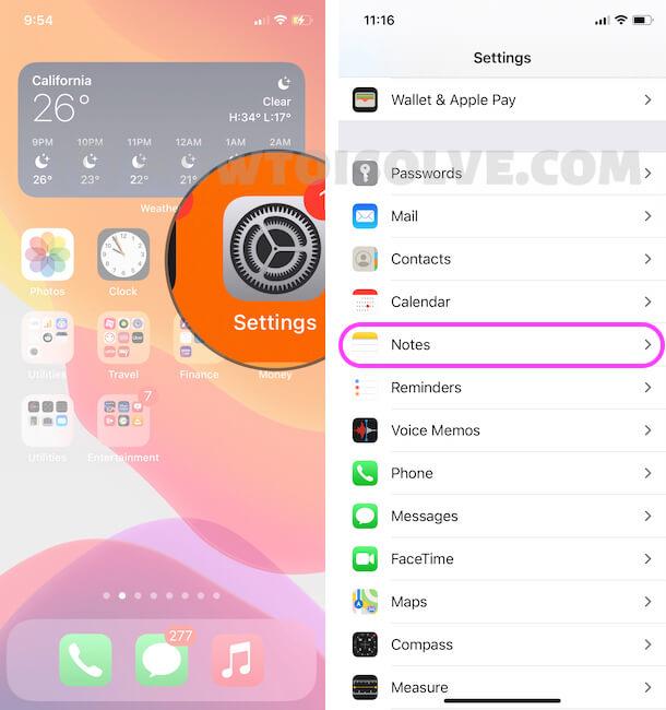 Как заблокировать заметки с помощью пароля или Face ID / Touch ID на iPhone и iPad
