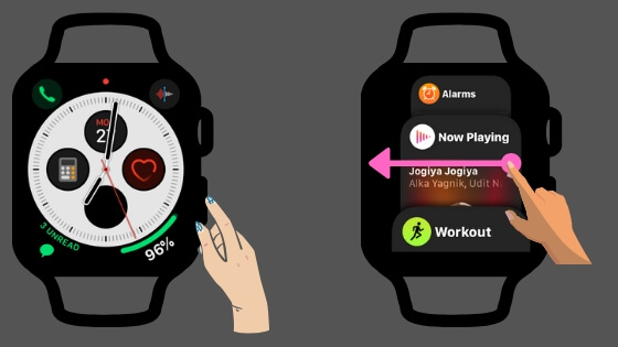Как принудительно закрыть недавние фоновые приложения на Apple Watch