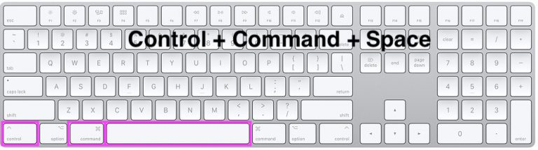 Как вставить квадратный символ на Mac, MacBook?  Pages, Word, Mail ..
