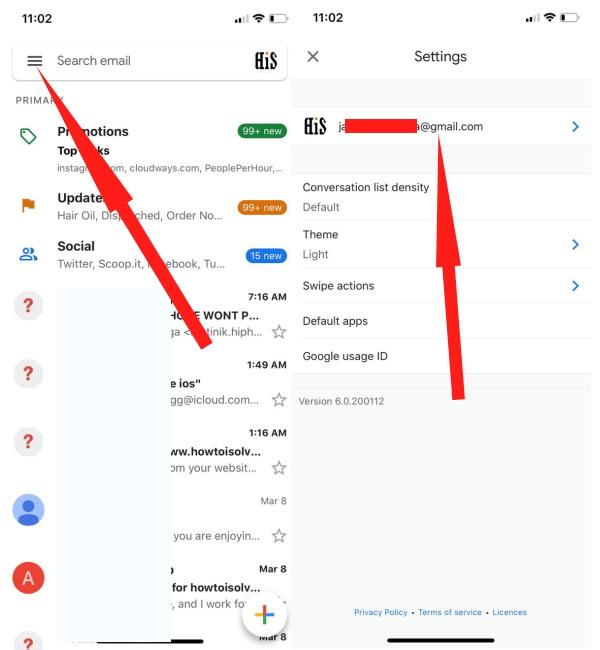 6 исправлений Gmail, которые не работают на моем iPhone 12 (Pro Max), XR, 11 в 2021 году