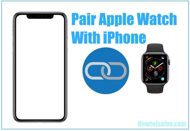 Как подключить Apple Watch 4 к iPhone 12 // 11 / XS Max, XS, XR, X / 8/7/6