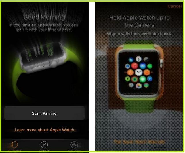Как подключить Apple Watch к iPhone альтернативными способами iOS 14 / watchOS 7