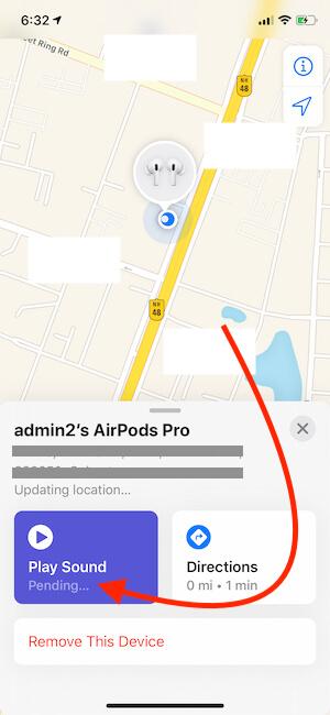 Как отследить и найти потерянные AirPods Pro, 2, 1?  Использование iPhone / Android