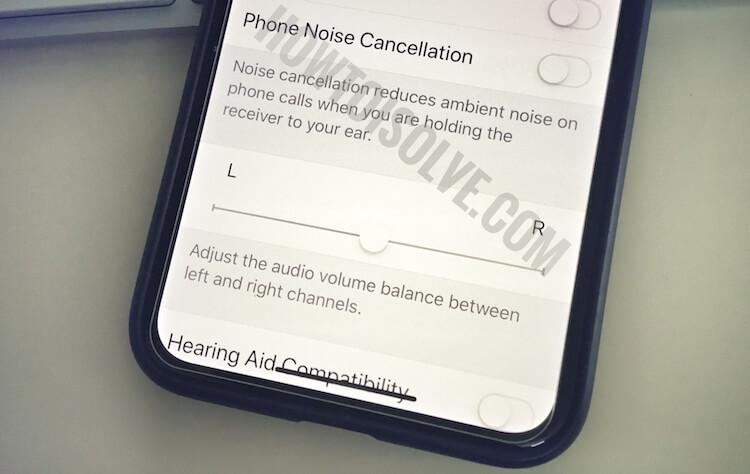 Как включить / отключить шумоподавление на iPhone 12Pro, 11 (Pro, Max)
