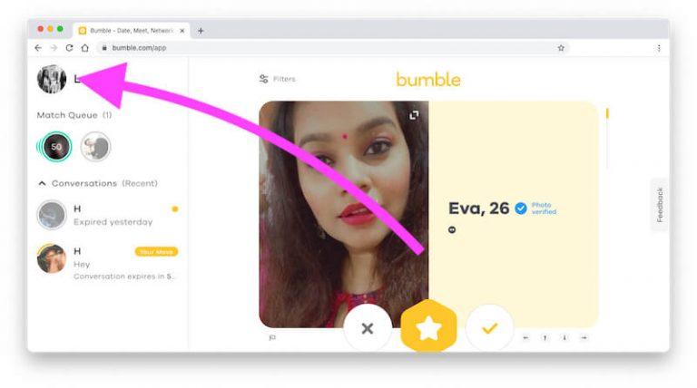 Как изменить расстояние поиска в Bumble?  Это на iPhone, Android?