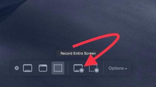Как записать экран на Mac под управлением macOS Big Sur, Catalina, Mojave
