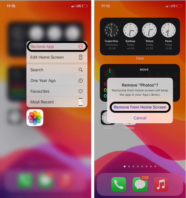 Как скрыть приложение для фотографий на iPhone, iPad без стороннего приложения
