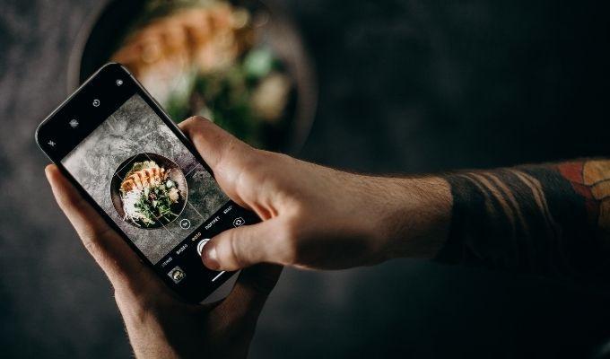 Как изменить размер изображений на iPhone