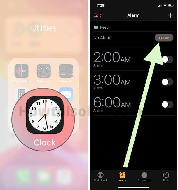 Настройка режима сна и режима сна на iPhone, Apple Watch: iOS 14, WatchOS 7