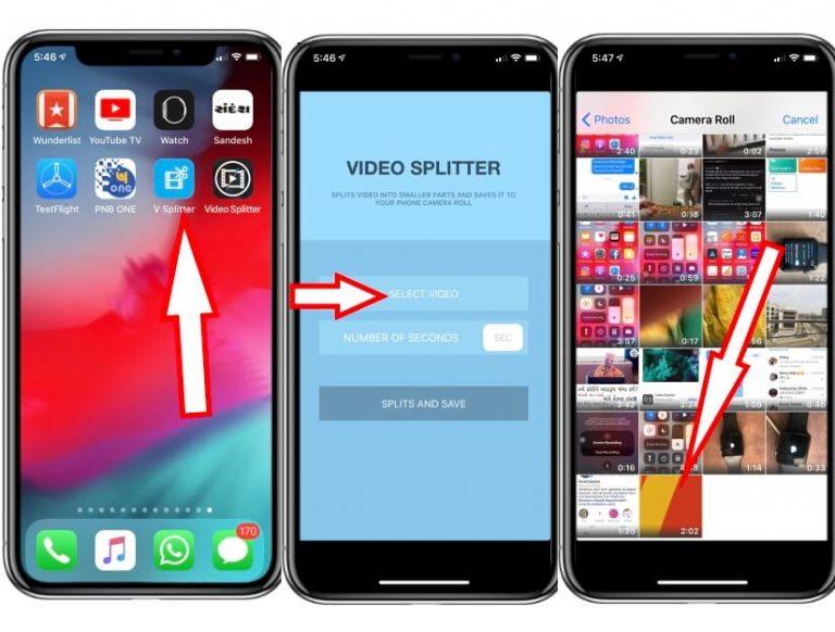 Как опубликовать более 30-секундные видеоролики о статусе WhatsApp iPhone