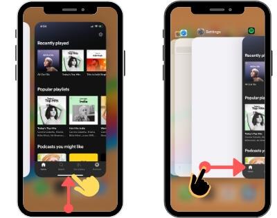 Как быстро переключать приложения на iPhone 12Pro Max, 11 (Pro Max)