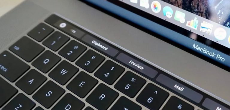Как сделать снимок экрана на сенсорной панели Macbook Pro