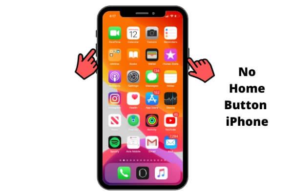 Как сделать снимок экрана на iPhone 12 Pro Max, 11 Pro, XS Max, XR, X?