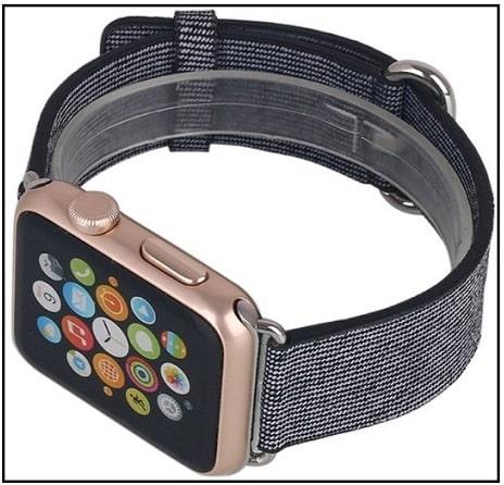 10 лучших плетеных нейлоновых ремешков для Apple Watch в 2021 году: в тренде