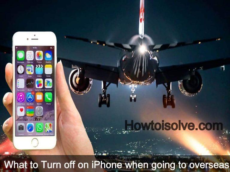 Что выключать на iPhone во время полета?