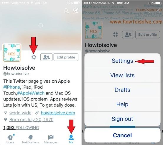 Push-уведомления Twitter не работают на iPhone и iPad в 2021 году