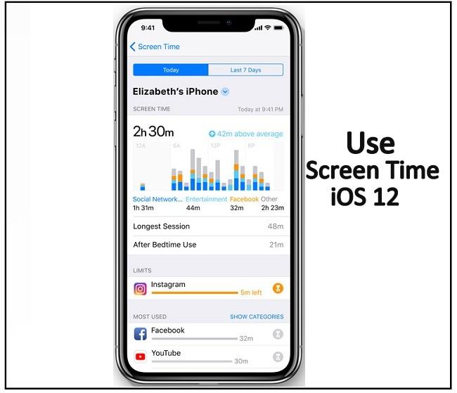 Как использовать или установить время экрана в iOS 14 / 13.7 / 12 / iOS 12.4 на iPhone / iPad