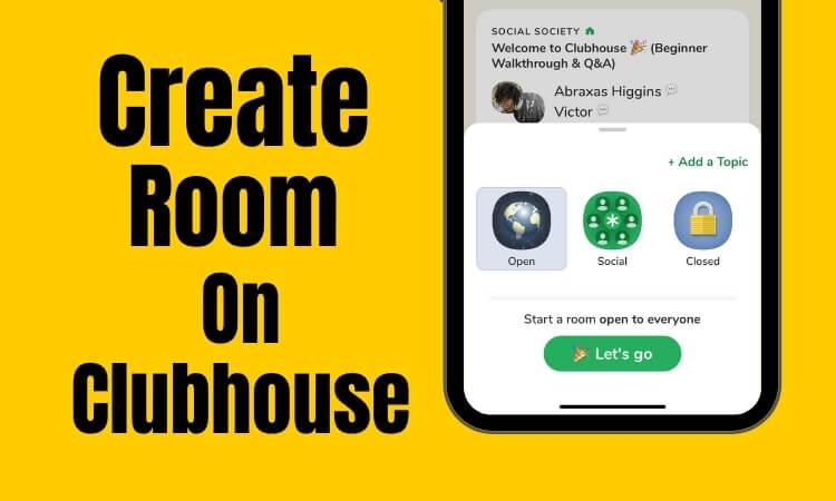 Как создать комнату в приложении Clubhouse: социальное приложение