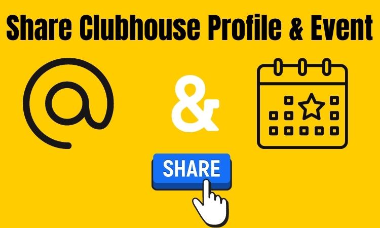 Как поделиться ссылкой на профиль клуба или ссылкой на мероприятие?  Социальное приложение