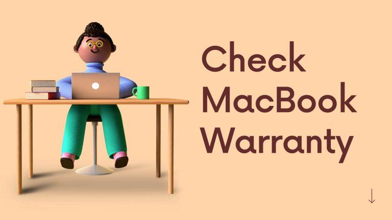 Как проверить гарантию MacBook Pro в 2021 году: 4 метода