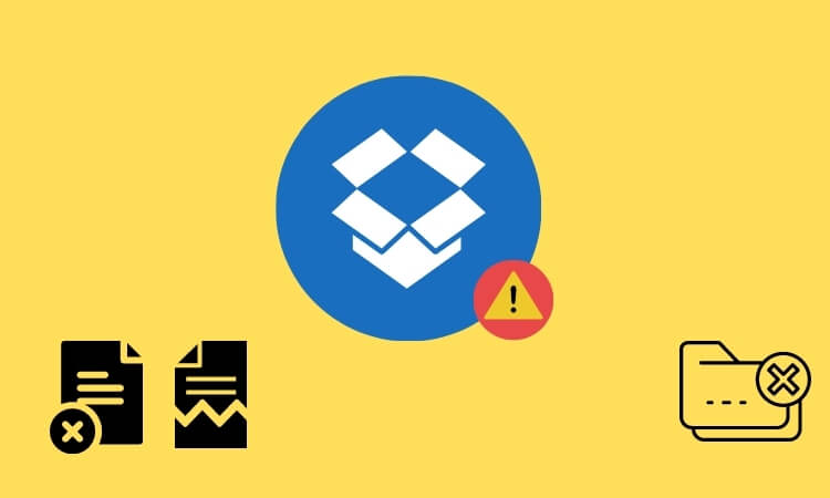 Исправить Dropbox При загрузке файла произошла ошибка