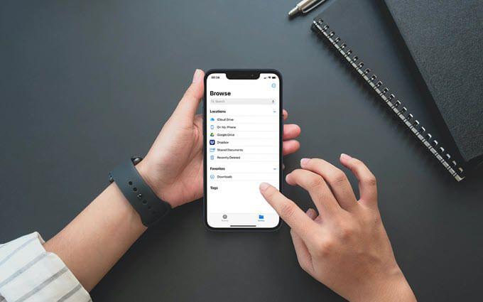 Как найти загруженные файлы на iPhone или iPad