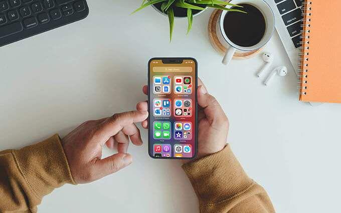 Отсутствуют загруженные приложения на iPhone?  Проверить библиотеку приложений