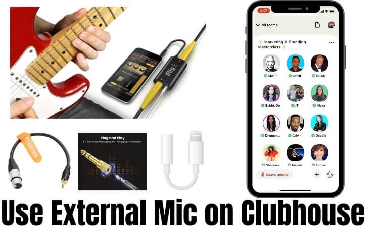 Как использовать внешний микрофон в приложении Clubhouse для звука высокого качества