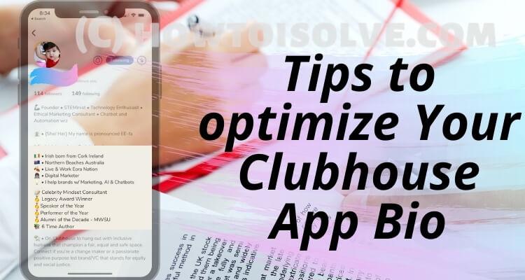 10 био-идей Clubhouse Советы по созданию идеального профиля в приложении Clubhouse